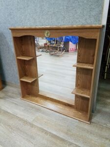 Hutch Top w/Mirror