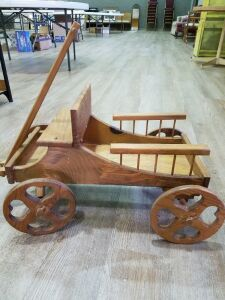 Wooden Decorative Wagon