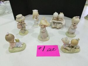 Precious Moments Figurines #1 set