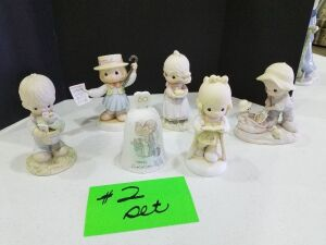 Precious Moments Figurines #2 set