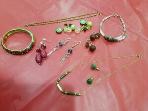 Assortment of Necklaces and Earrings #2