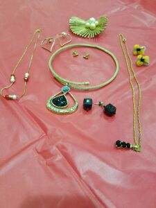 Assortment of Necklaces and Earrings #4
