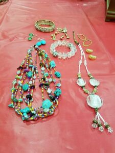 Assortment of Necklaces and Earrings #5