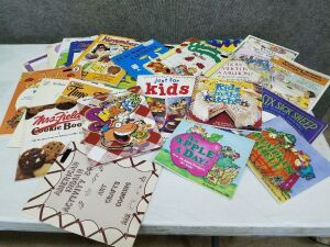 Activity Books and Recipe books for Kids