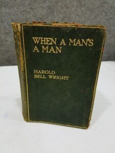 1st Edition Harold Bell Wright/copywriter 1916