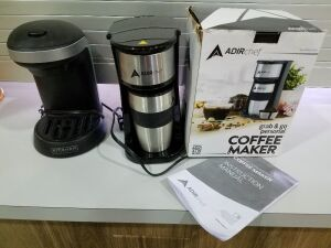 Grab & Go Coffee Maker w/cup