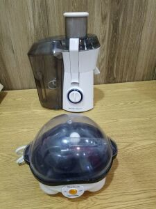 Hamilton Beach Juice Extractor and Egg Cooker