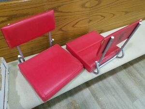 Two Red Stadium Seats