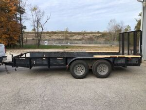 "Simpson Trailer 1991 16' long x 77"" wide"