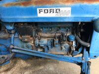 Ford 2000. 4 cylinder. Only runs in reverse. Located in Butler - 2
