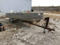Fishing Boat and Trailer - 2