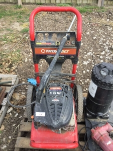 Troy-Bilt Pressure washer. Not testing.