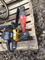 Mac 3200 chainsaw and sawzall