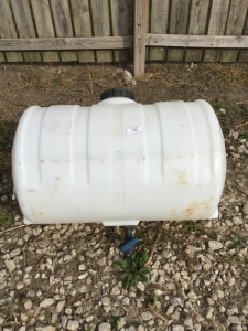 55 gallon plastic sprayer tank