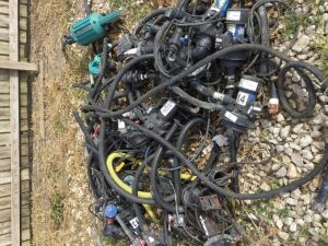 Group of herbicide pumps