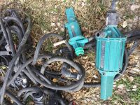 Group of herbicide pumps - 4