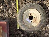 4 bolt Trailer tire. 8 inch. - 3