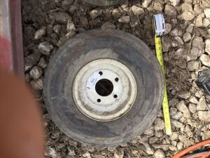 5 bolt trailer tire