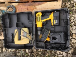 DeWalt 18v drill and jig saw