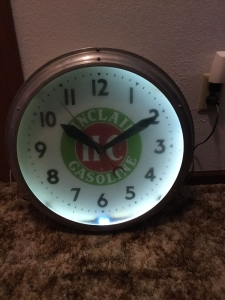 Sinclair clock working 21 inch