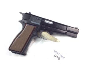 Browning Hi Power 9mm Single Action 245NM15084 Serial Number