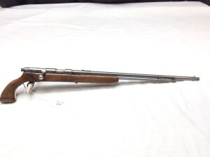 J Stevens Arms Co. Custom 66C  22 S/L/LR bolt action
