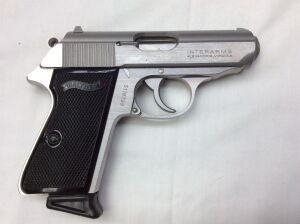 Walther PPK/S SS 9mm Kurz/380 ACP S119799 Serial Number