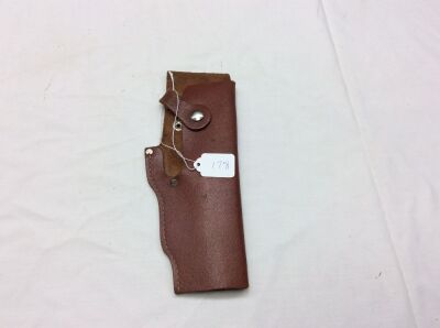 Lg. Brown Leather Holster