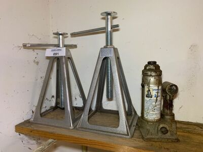 Bottle Jack, Trailer stands