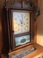 Eight Day Spring Wound Pendulum Clock, The New England Clock Company