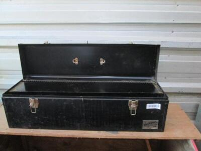 Large metal tool box