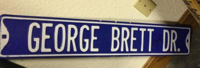 George Brett street sign