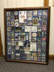 George Brett career baseball cards and poster