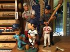 Cy Young, Cookie Rojas, Larry Gura, Buck, figures