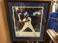Frank White autographed photo 16 x 20